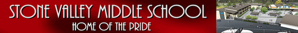 Stone Valley Middle School   Logo
