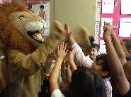 Our own Larry the Lion at Coronado!